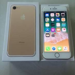 Iphone 7 128 xde calar 10/10 cod all melaka