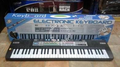 Piano Keyboard 61 keys : Black