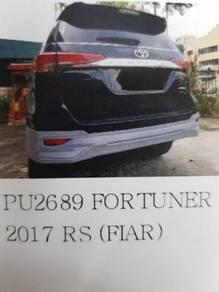 Toyota fortuner 17-19 fiar rear skirt Pu material