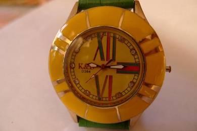 K&D Quartz Watch
