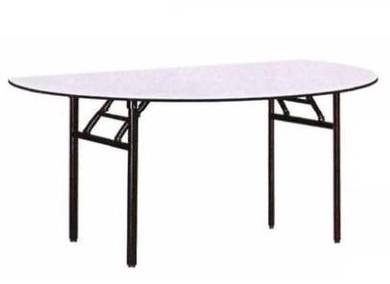 Half Round Foldable Table