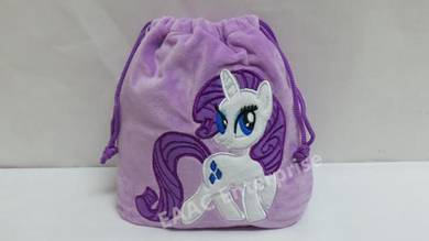 Pony Poney Purple Multipurpose Cosmetic Makeup Bag