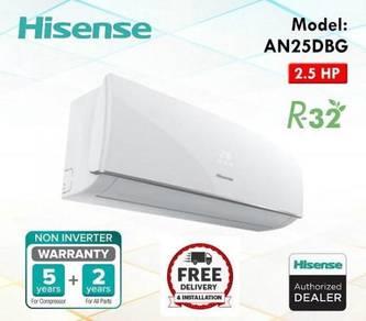 Aircond hisense 2.5hp