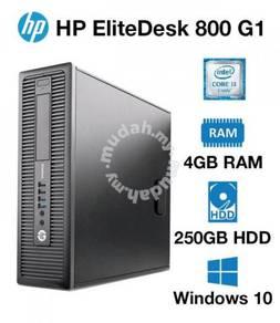 Hp elitedesk 800 core i3 desktop