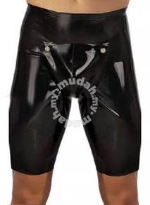 Rubber Short with Cod Piece