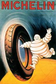 Poster MICHELIN VINTAGE TYRE