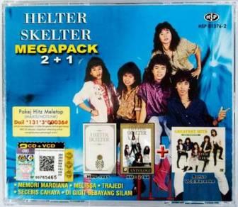 HELTER SKELTER Megapack 2CD + 1VCD Karaoke