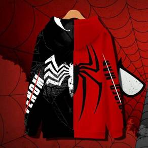 Marvel spiderman into the verse Venom hoodie