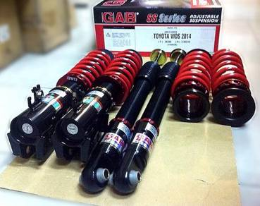 GAB SS Series Fully Adjustable New Vios Yaris 18+