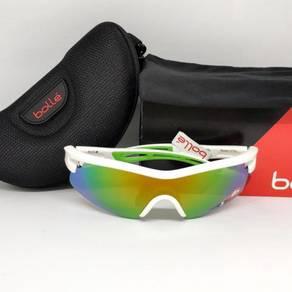 Bolle Vortex sunglasses - Shiny White Green