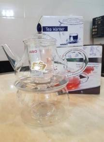 Hario Teapot Danube & Tea Warmer ( japan import )