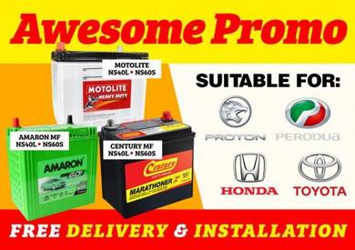 Car battery delivery Saga Wira Civic X70 bateri