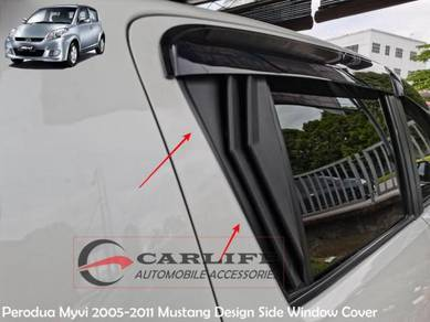 Perodua Myvi 2005-2011 Mustang Side Window Cover