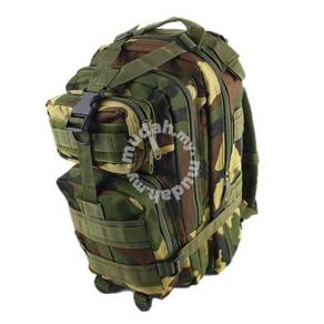 Army Military 3P Attack Backpack SWAT Bag 24L
