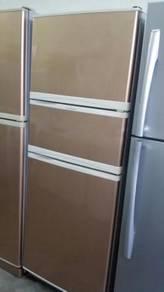 Elba Gold Freezer Fridge Peti Ais Refrigerator