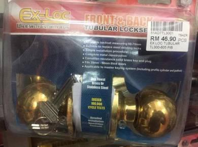 Lockset ex loc tubular