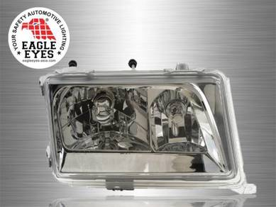 Mercedes Benz W124 Crystal Head Lamp 85-93