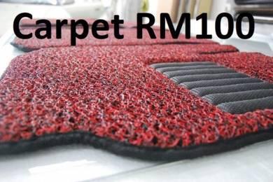Tinted Carpet PROTON IRIZ PERSONA SAGA WAJA k WIRA
