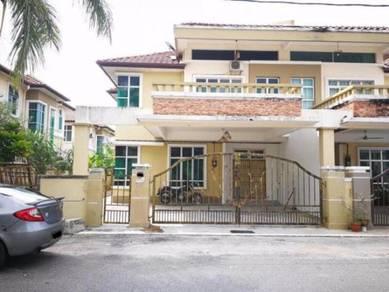 Semi-D 2 Tingkat, 5 bilik, Luas Tanah 3197 sqft, Taman cheng setia