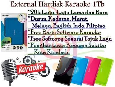 Karaoke 1TB Hardisk