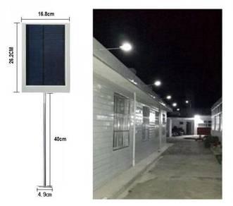 Lampu Solar LED Pagar Dinding Tiang Jalan Street