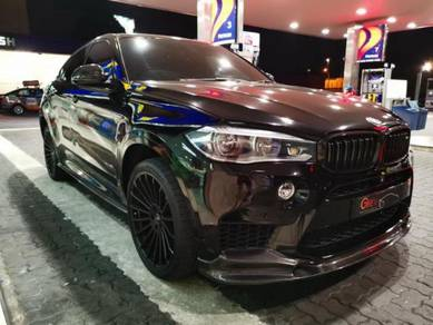 BMW F86 X6 M 3D Design Carbon F16 X6 M bodykit