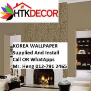 Wall paper Install at Living Space 27QX