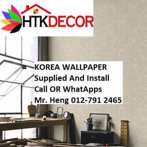 PVC Vinyl Wall paper with Expert Install 51PÑ