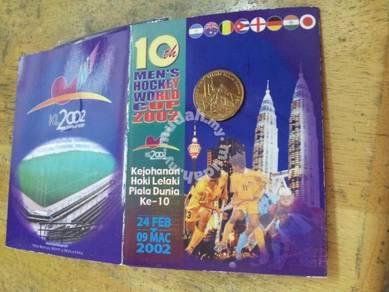 Coin card Hockey 2002
