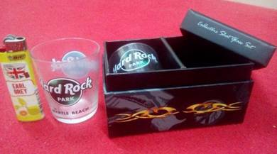 Hard Rock Park shotglass set