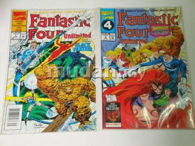 FANTASTIC FOUR UNLIMITED issue 1 and 2 set