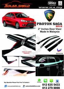 Proton Saga 2016 Mugen Door Visor