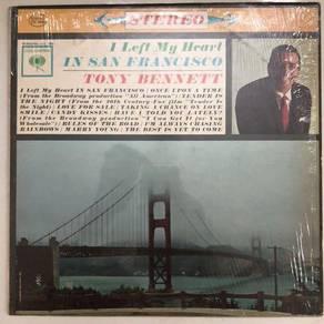 Tony Bennett; I left my heart in San Francisco