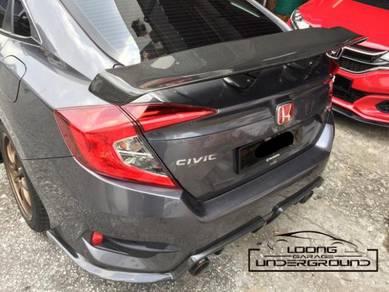 Honda Civic FC Carbon Varis GT Wing Spoiler