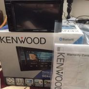 KENWOOD audio player with bluetooth