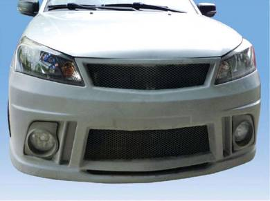 Proton Saga FL V-Design V2 Front Bumper Fiber
