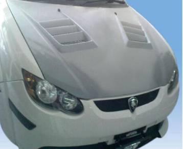 Proton Satria Neo Mugen Front Bonnet Fiber