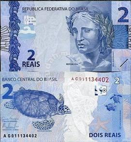 Brazil 2 reais 2013 p 252 unc