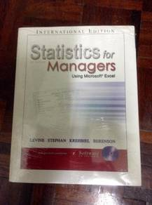 Statistics for Managers 4th Edition