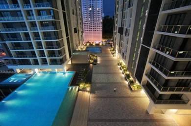 Jesselton Residences 2rooms | 3 Car Park | unblock Pool view
