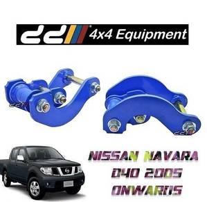 NAVARA D40 Js double g shackle 4WD 4X4