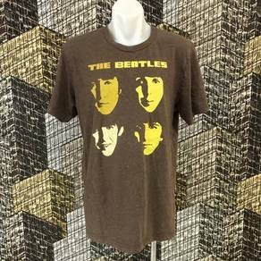 THE BEATLES BAND shirt size L