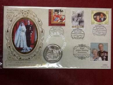 Royal Golden Wedding Anniversary- Isle of Man