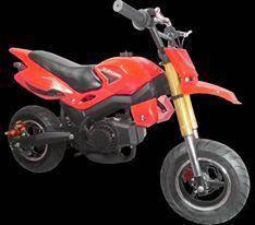 Minimotard Pull Start 49cc For Kids