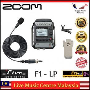 Zoom F1-LP Field Recorder + Lavalier Mic (F1LP)
