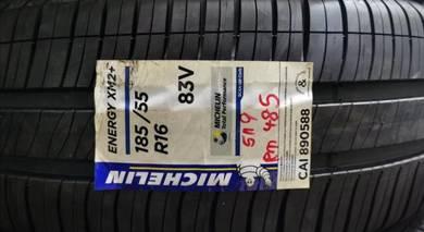 Tayar Michelin Xm2+ Plus 185 55 16 Tyre New 2020