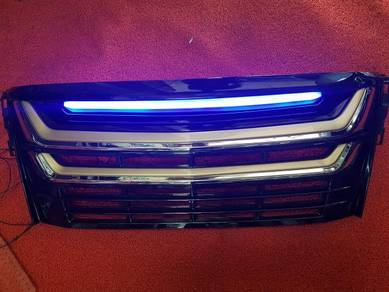Toyota alphard 30 2017 led front grill grille led