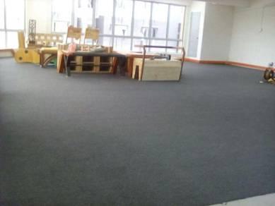 Idi carpet - pasang carpet office / karpet pejabat