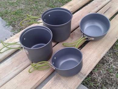 Camping Cooking Set Twin Pot DS 201