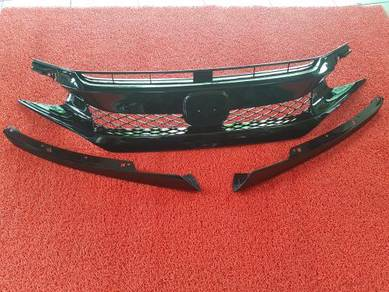 Honda civic fc type r front grille grill abs